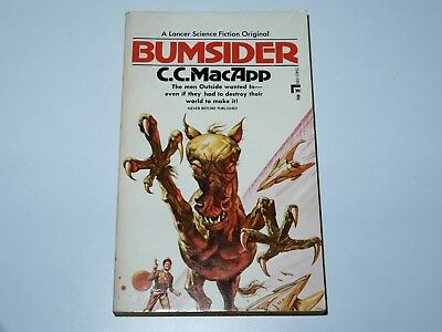 Bumsider - C.c. Macapp - Lancer Book 1St Pbo 1972 Sci-Fi Sf