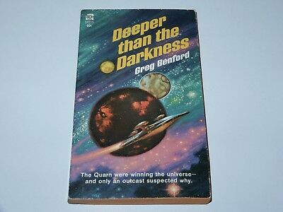 Deeper Than The Darkness - Greg Benford - Ace Books 1St Pbo 1970 Sci-Fi Sf