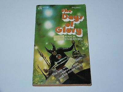 Dies Irae I The Days Of Glory - Brian M. Stableford - Ace Book 1St Pbo 1971 Sf