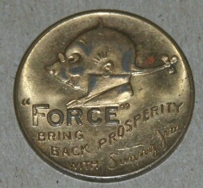 Sunny Jim Force Cereal Token