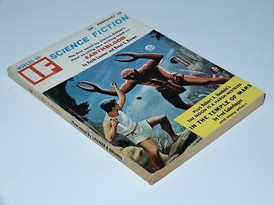 If Worlds Of Science Fiction 1966 February 3/6 Gsp Earthblood Laumer Heinlein Sf