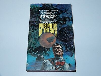 Prisoners Of The Sky - C.c. Macapp - Lancer Books 1St Pbo 1969 Sci-Fi Sf