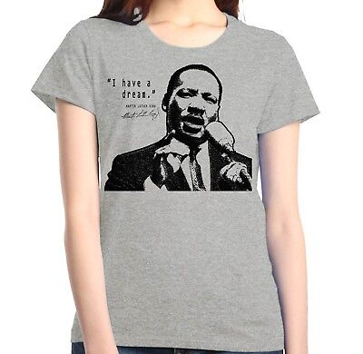 Martin Luther King Jr. Women's T-Shirt Dream Speech Civil Rights Shirts