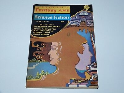 The Magazine Of Fantasy & Science Fiction February 1968 Mercury Publication Sf