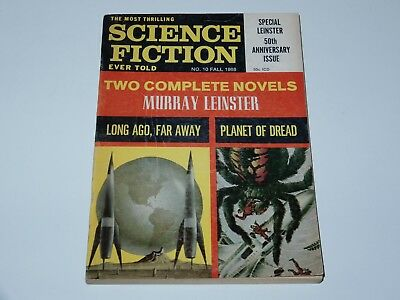 The Most Thrilling Science Fiction Ever Told #10 Fall 1968 50Th Anniversary Sf