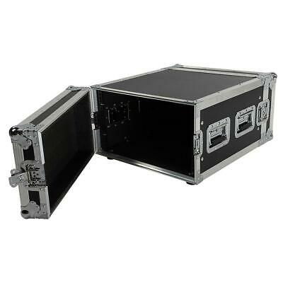 New High Quality 19 Inch Space Rack Case Double Door 6U DJ Equipment Cabinet