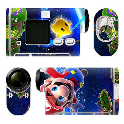 Sony HDR-AS100V STICKERS TNA0014 MARIO Decal  Waterproof Dustproof PVC Decor