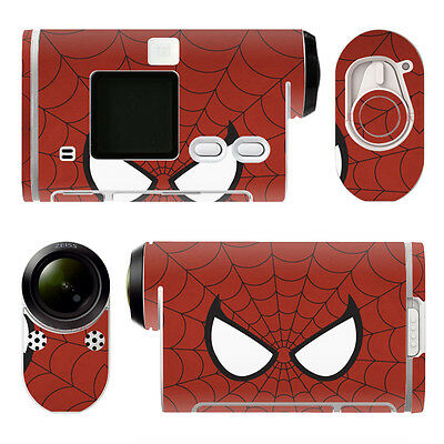 Sony HDR-AS100V STICKERS SPIDERMAN Decal Waterproof Dustproof PVC Decor TNA0017