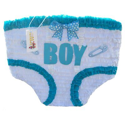 Baby Boy Diaper Pinata Baby Shower Party!