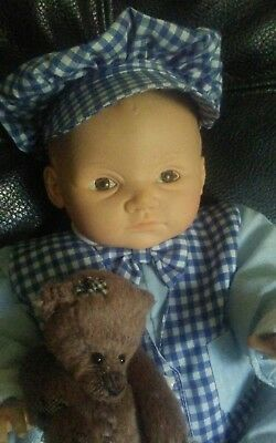 Cameo Adorable Baby Boy vintage Doll