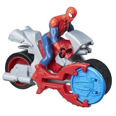 Marvel Spider-Man Blast N' Go Racer with Cycle