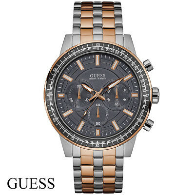 guess chrono herrenuhr m nneruhr w0076g2 chronograph mit. Black Bedroom Furniture Sets. Home Design Ideas