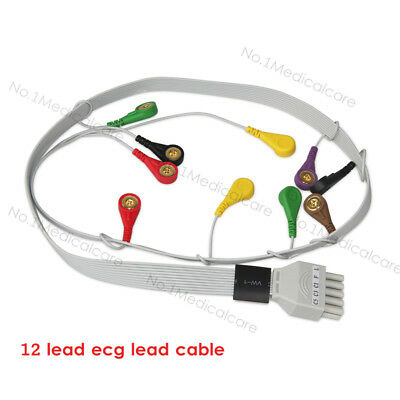 CONTEC 12 Lead ECG Wire Cable for Holter ECG TLC6000