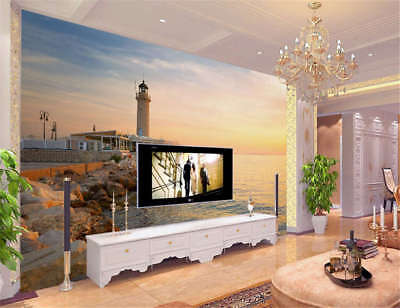 Gloomy Quiet Tower 3D Full Wall Mural Photo Wallpaper Printing Home Kids Decor