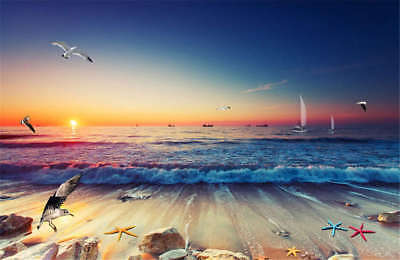 Quiet Gloomy Sunset 3D Full Wall Mural Photo Wallpaper Printing Home Kids Decor