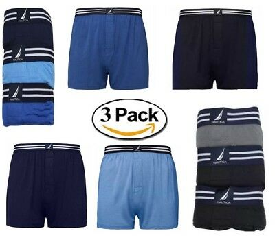 Nautica Men's Cotton Modal Boxer 3-Pack , MSRP $45