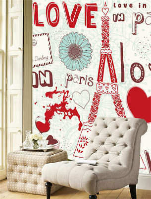 Concise Cosy Love 3D Full Wall Mural Photo Wallpaper Printing Home Kids Decor