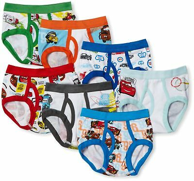 Cars Underwear for Toddler Boys 7-Pack (2T-4T) Assorted 4T