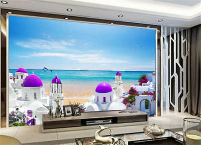 Sandy Stiff Tower 3D Full Wall Mural Photo Wallpaper Printing Home Kids Decor
