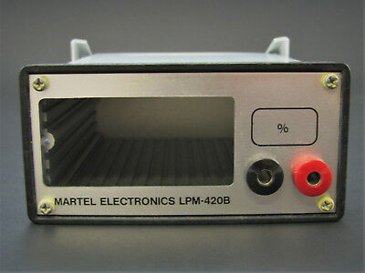 1x Bench/Panel Enclosure for LPM420 Meter - Martel LPM420B *NOS*