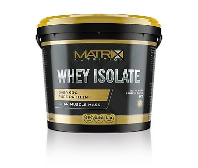 Matrix Whey Protein Isolate - All Flavours & Sizes -  By Matrix Nutrition