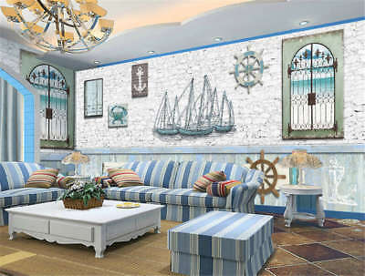 Cosy West Building 3D Full Wall Mural Photo Wallpaper Printing Home Kids Decor