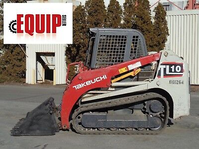 2014 Takeuchi TL10 Track Skid Steer Loader - High Flow - Auxiliary Hydraulics