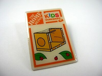 Collectible Pin: The Home Depot Kids Workshop