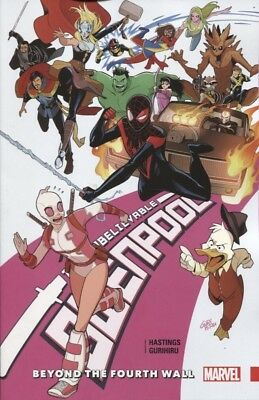 Unbelievable Gwenpool Tpb Vol 4 Beyond Fourth Wall Reps #16-20 New/unread