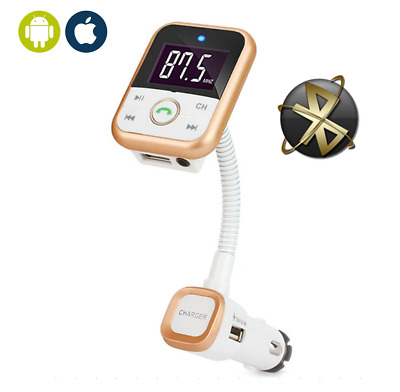 Bluetooth Wireless FM Transmitter MP3 Radio Adapter USB SD AUX Charger Car Kit