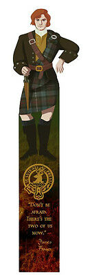 "Jamie Fraser (""Outlander"" by Diana Gabaldon)  laminated bookmark"