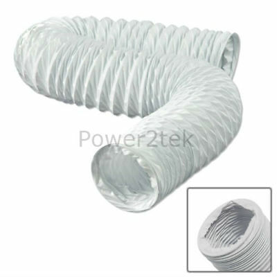 """Vent Hose 10cm (4"""") x 3m for White Knight CL427BV CL427OGV CL427WV Tumble Dryer"""