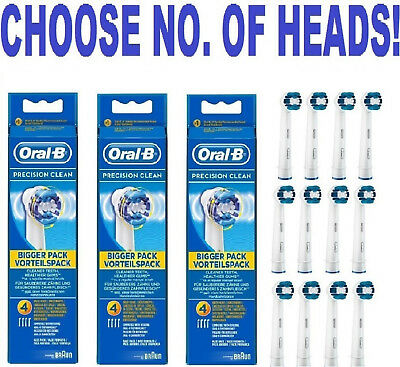 Braun Oral-B PRECISION CLEAN replacement Brush Heads