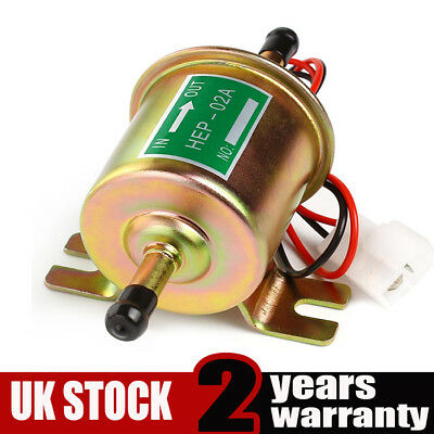12V Suitable for Petrol Diesel Gas Fuel Pump Universal Inline Electric HEP-02A
