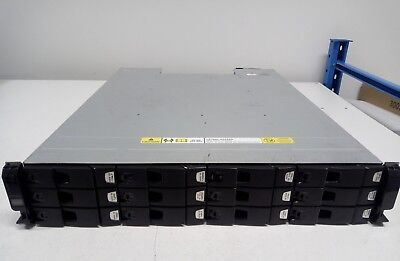 Dell Xyratex Compellent HB-1235 12-Bay 12x 600GB SAS 2x SAS Controller Dual PSU