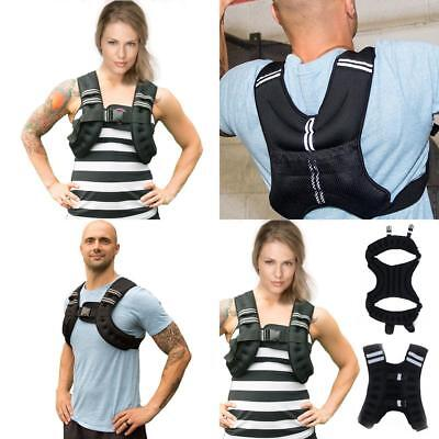 Weighted Vest  loss Strength Jacket  Home Gym Running Fitness Weight  10kg