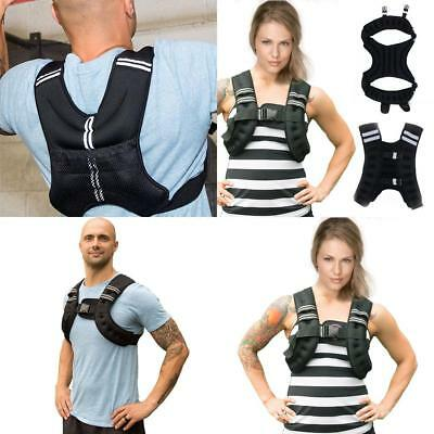 Weighted Vest  loss Strength Jacket  Fitness Weight  Home Gym Running 10kg