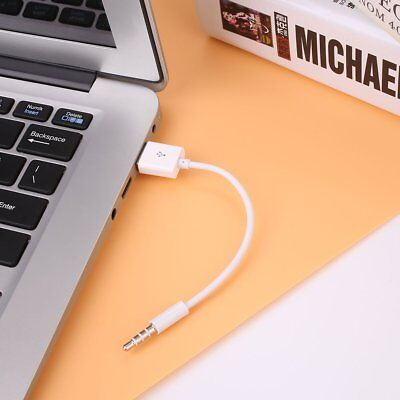 3.5mm Charging Charger Cable USB Data Sync Cord for Apple iPod Shuffle 3/4/5