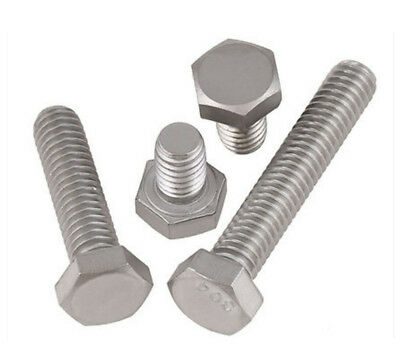 3/8-16 UNC/BSW 304 Stainless steel Hex Cap Head Bolts screws