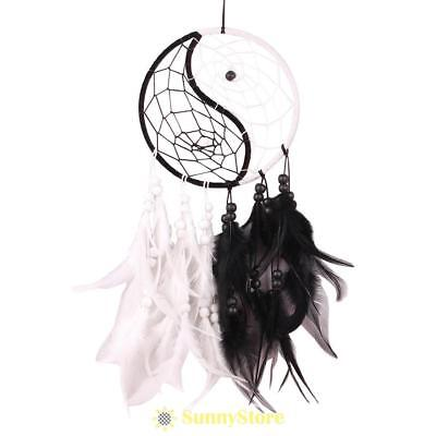 NEW Handmade Dream Catcher With Feathers Car Wall Hanging Decoration Ornament US