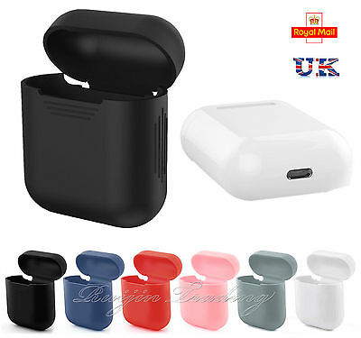 UK Silicone Airpods Protective Cover Case Slim Skin For Apple AirPod Earphones