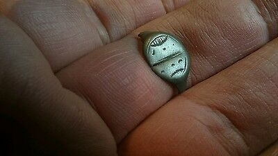 Lovely Roman Bronze/Silver? ring part Uk find