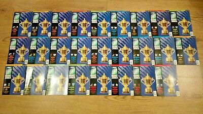 Rugby Union World Cup 2003 Programmes