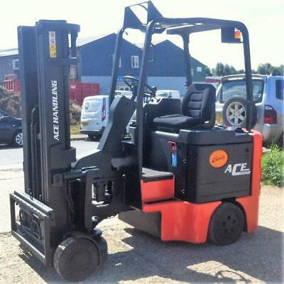 AH1095 Bendi BE30 Articulated Counter Balance Ride-On Fork Lift Truck