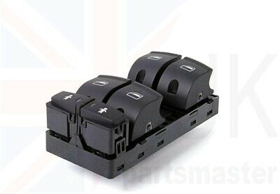 Other A6 C6 NEW GENUINE DRIVERS SIDE FRONT ELECTRIC WINDOW SWITCH PACK 2005-2011