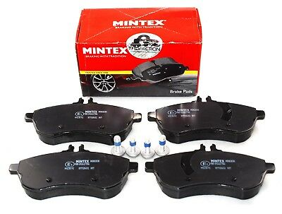 REAL IMAGE OF PART MINTEX FRONT AXLE BRAKE PADS MERCEDES-BENZ C CLK MDB2070