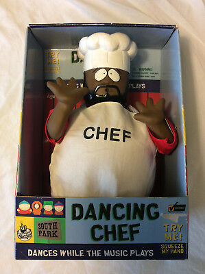 South Park DANCING CHEF, Still in Box. Works Great. NEW-RARE