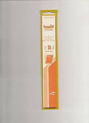 HAWID MOUNTS 21mm strips clear pack of 25
