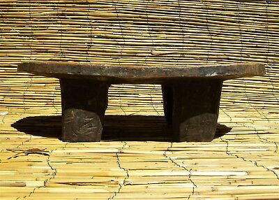 "African Senufo Stool From The Ivory Coast 6 1/2"" Tall"