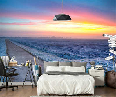 Distinct Feeling Sea 3D Full Wall Mural Photo Wallpaper Printing Home Kids Decor